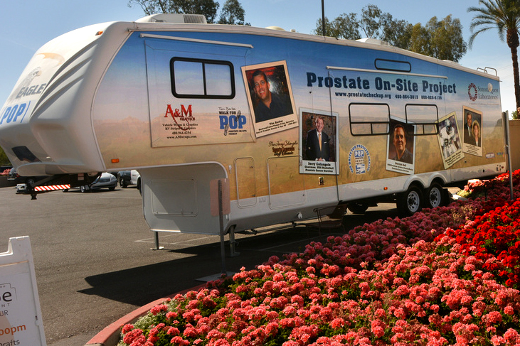 Mobile Prostate Cancer Screenings